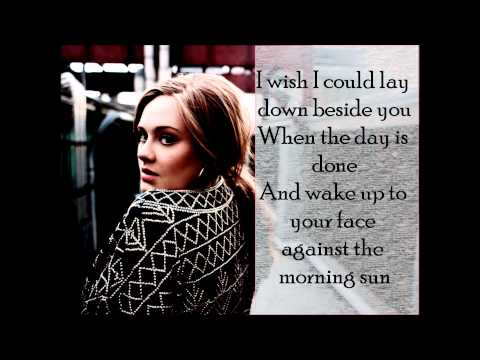 ADELE  hiding my heart away lyrics