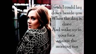 ADELE - hiding my heart away -lyrics-