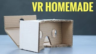 How to Make VR Headset at Home   VR Cardboard