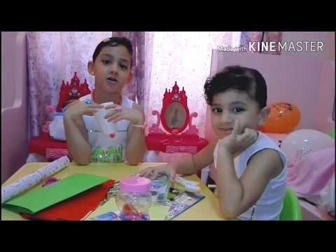 Arts and Crafts for Kids| making simple flowers  .. أشغال يدوية للأطفال
