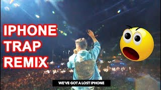 WHEN U REMIX A LOST IPHONE