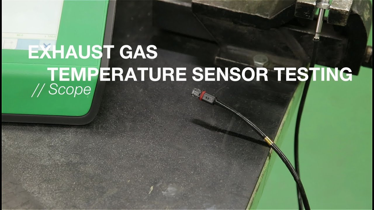 Exhaust Gas Temperature Sensor Testing : NGK Spark Plugs