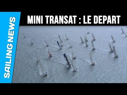 Départ de la Mini Transat Iles de Guadeloupe