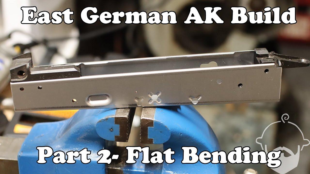 AK Build- Part 2- Flat Bending