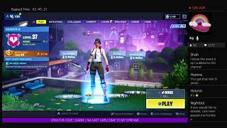 ||Fortnite Live! Girl PS4 Player - 600+ WINS! - SEASON 9 GRIND - ZONE WARZZZ||