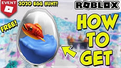 [EVENT] HOW TO GET THE MARINE EGG IN FLOP - ROBLOX EGG HUNT 2020