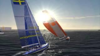 Virtual Skipper 5: Bergerheim Marina Cup ACC Sprint 2 in Malmö. (Subtitled)