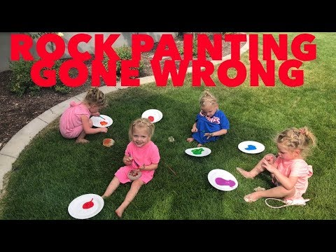 ROCK PAINTING GONE WRONG