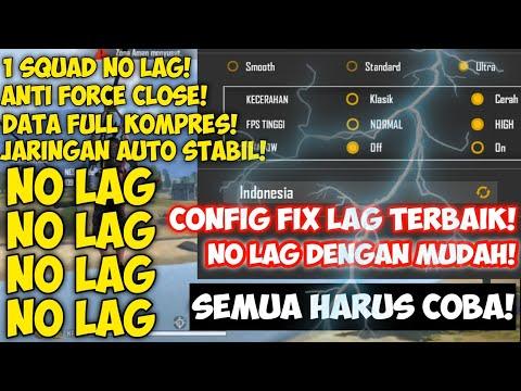 GRAFIK ULTRA NO LAG‼️cara MENGATASI LAG/Patah Patah di Free Fire SANGAT MUDAH - Free Fire Indonesia - 동영상