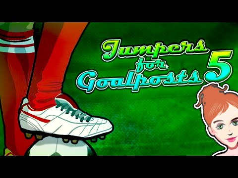 """JUMPERS FOR GOALPOSTS """"STARTING AGAIN!"""""""
