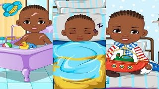Best Baby Games-Good Morning Baby Boy Game Episode-New Baby Caring Games