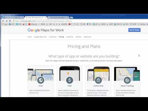 Google Map API Key