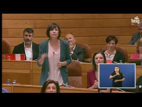 Ana Pontón insta a Feixóo a cambiar de rumbo e a dar a cara por Galiza