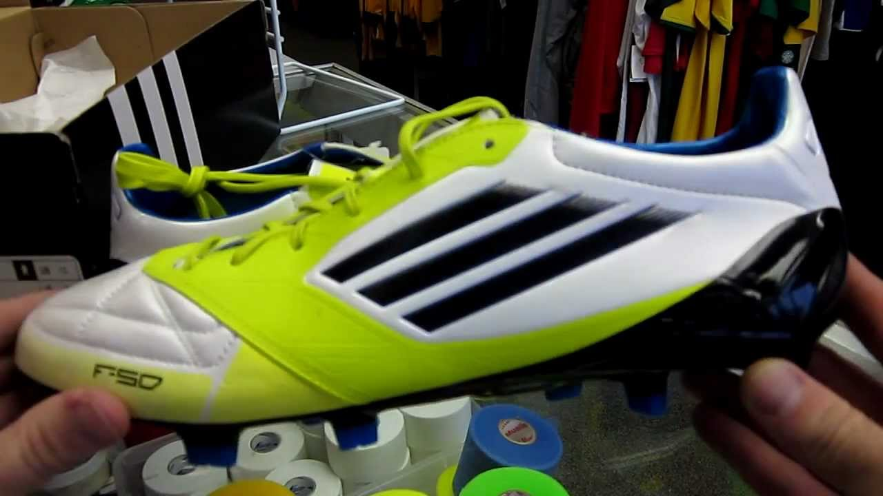 Adidas F50 adiZero miCoach Unboxing and Review - YouTube f23416f6838d