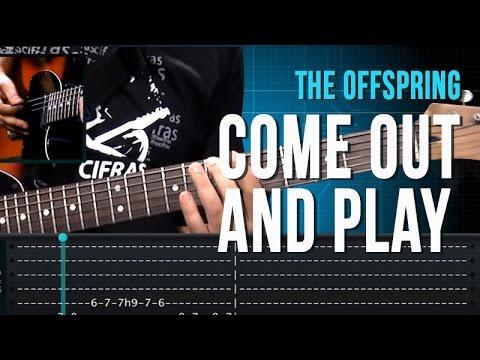 The Offspring - Come Out and Play  (como tocar - aula de guitarra)