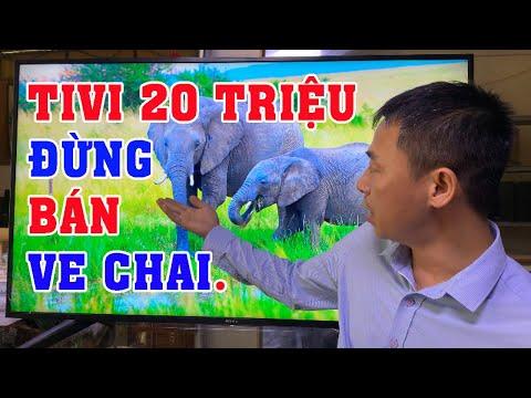 Tivi Ve Chai Giá 8 Triệu ĐẲNG CẤP CÔNG NGHỆ.