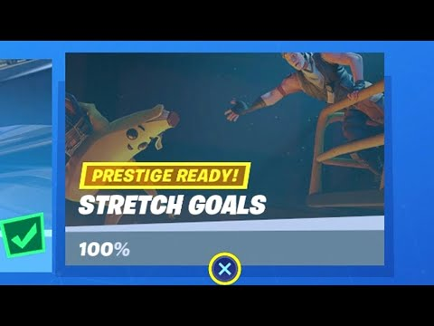 Fortnite All 'Stretch Goals' Challenges Guide - Chapter 2 Season 1