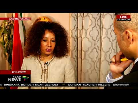 In conversation with International Relations Minister Lindiwe Sisulu