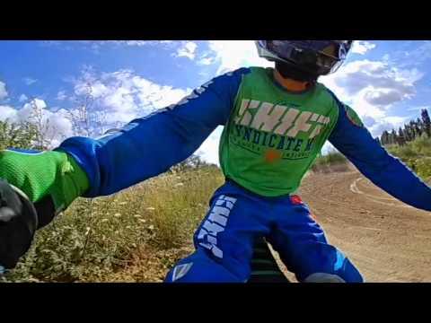 Flying Arms Motocross 360 grad view Lenker cam test