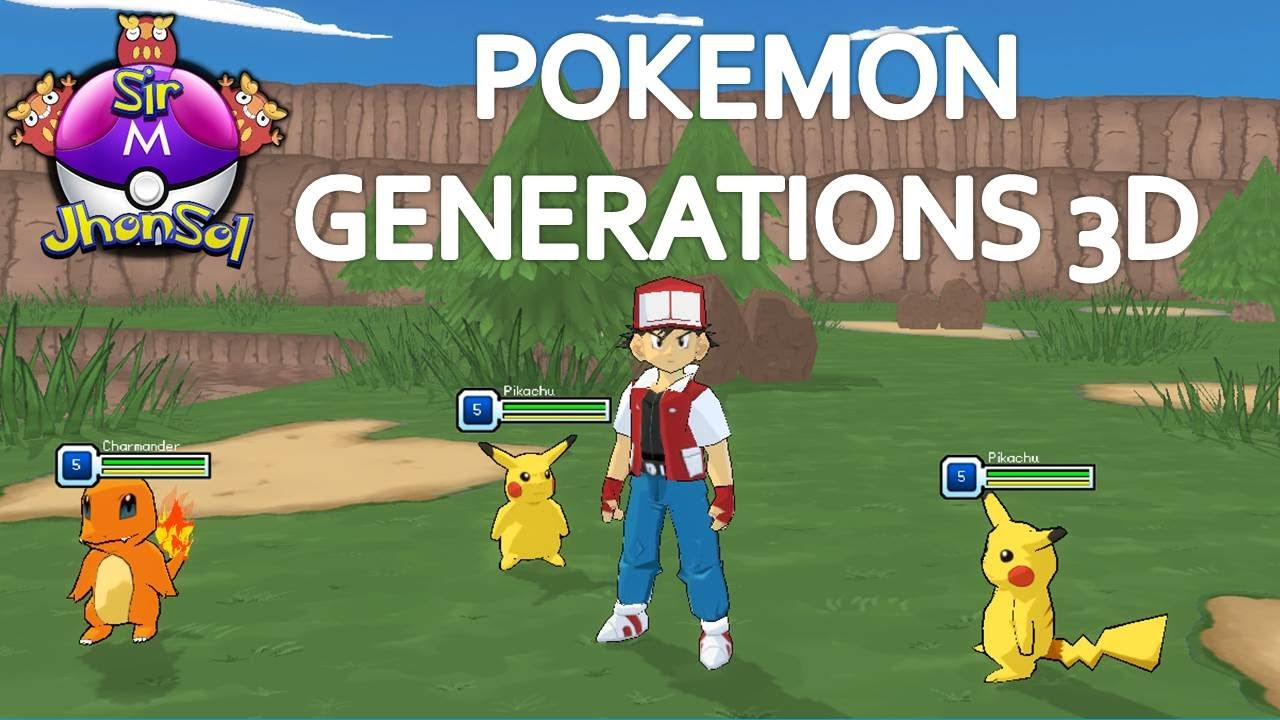Nuevo Juego Pokemon Generations 3d Pokemon Rpg Online Pc Review
