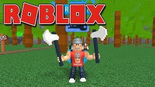 Roblox - MEUS NOVOS MACHADOS INCRIVEIS ( Lumber Simulator 2 )