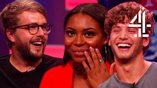Love Island Cast Reveal Villa Secrets & Samira Talks Ethnic Diversity | The Big Narstie Show