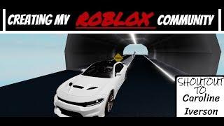 Creating My Roblox Community!