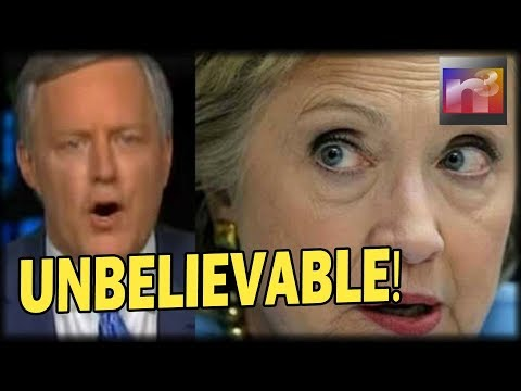 UNBELIEVABLE! GOP Rep Meadows drops Steele Dossier BOMBSHELL on LIVE TV that'll make Hillary Sweat!
