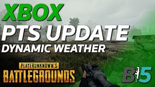 NEW PUBG XBOX Test Server Update - Dynamic Weather, Limb Penetration, and Much More!!
