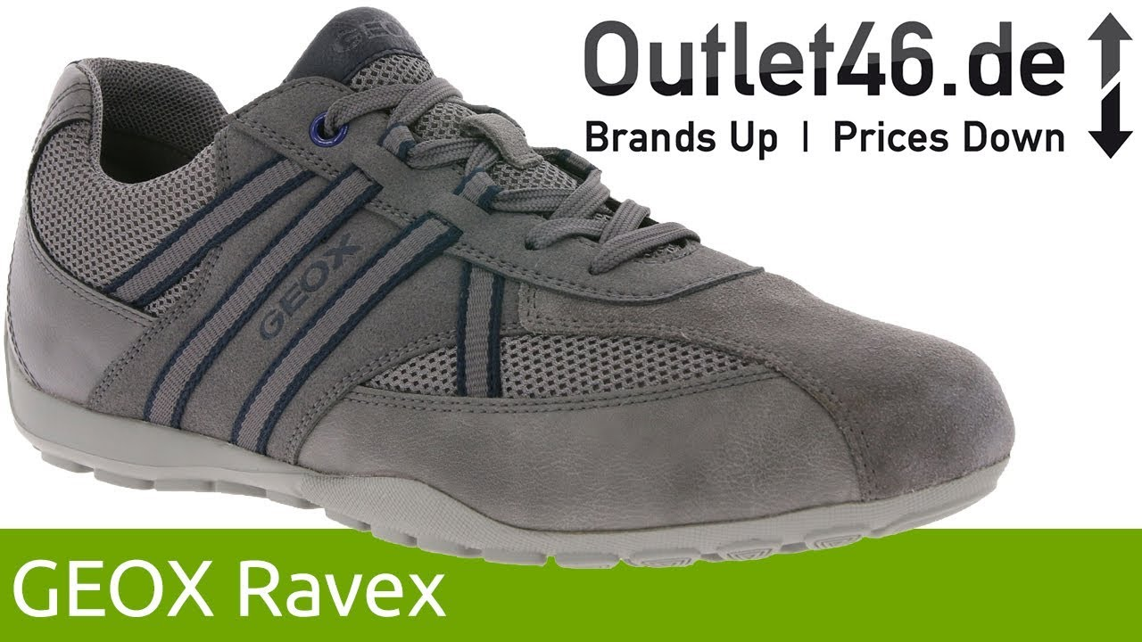 GEOX Ravex Sneaker Dunkelgrau l Atmungsaktiv \u0026 Wasserdicht l 360