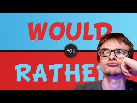 The Important Questions | Would You Rather (Part 1)