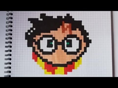 Pixel Art Harry Potter Youtube
