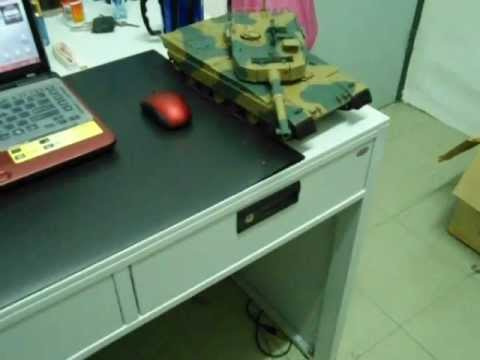 1/24 SCALE M1A2 ABRAMS Type 90 RC TANK. I Call It BARBAROTH