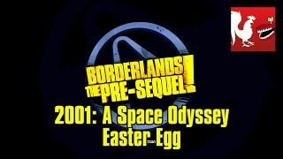 Borderlands The Pre-Sequel - 2001 A Space Odyssey Easter Egg