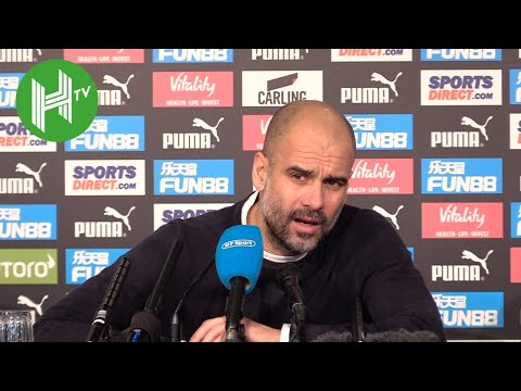 Newcastle 2-1 Man City | Pep Guardiola: Will be tough to catch Liverpool in title race
