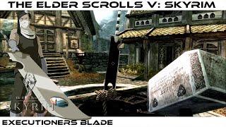 Download Video The Elder Scroll V : Skyrim [MOD] : Executioner's Blade / Epée décapitatrice de Zabuza[HD][PC] MP3 3GP MP4