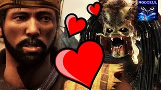 Scorpion + Predator = Love. Hanzo loves Predator Glitch. Mortal Kombat X