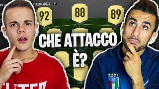 🤔 INDOVINA la SQUADRA da FIFA ULTIMATE TEAM!!! - Enry Lazza vs Ohm | FUT 20