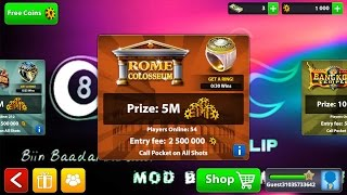 8 Ball Pool 3.7.4 MOD All Room Guidelines 2016