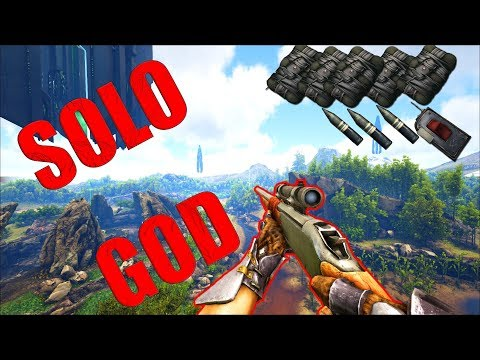Solo ARK But By A Player With 1000 Hours....