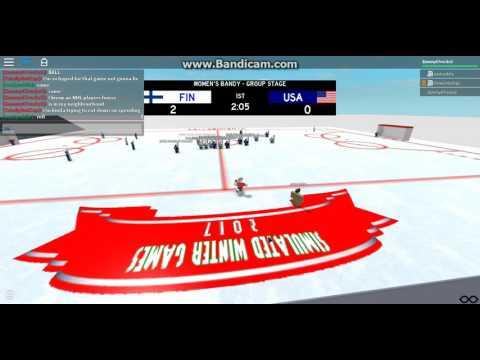 (SWG 2017) Finland vs USA women's bandy