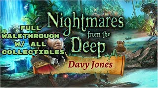 Nightmares From the Deep 3: Davy Jones Full Walkthrough w/ all Collectibles