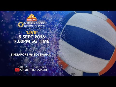 Netball: Singapore vs Botswana | Mission Foods Nations Cup 2016