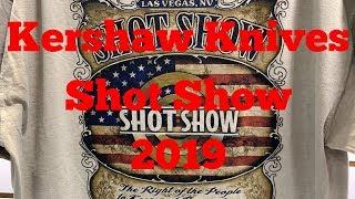 Kershaw Knives Shot Show 2019    New Knives Introduction !
