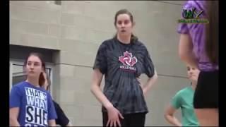 giant Volleyball Player - Miranda Weber