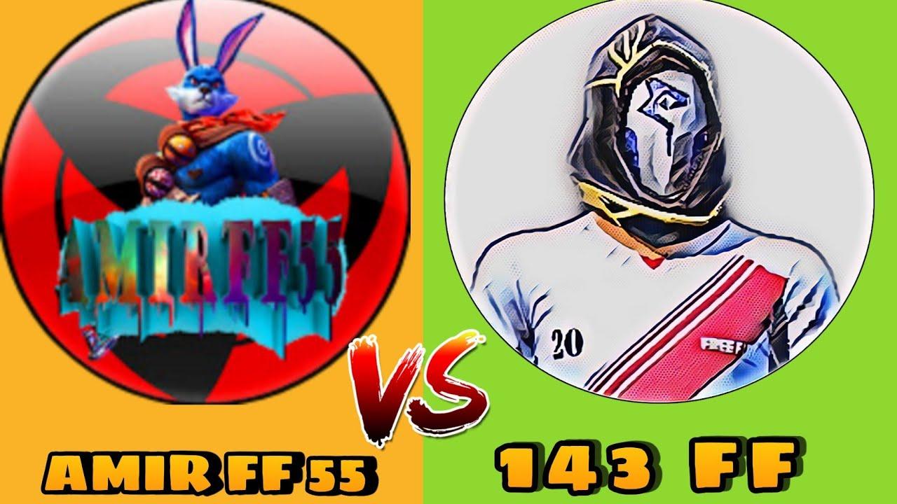 Amir FF55 VS 143 FF 🔥 Friendly