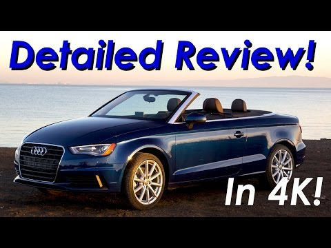 2015  2017 Audi A3 Convertible Review  In 4K DETAILED