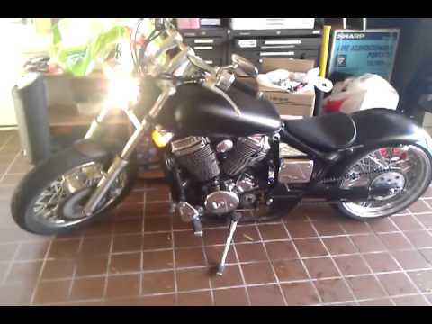 Honda Shadow 750 Custom Youtube