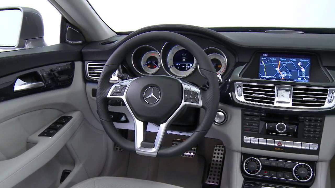 mercedes-benz cls-class w218 interior