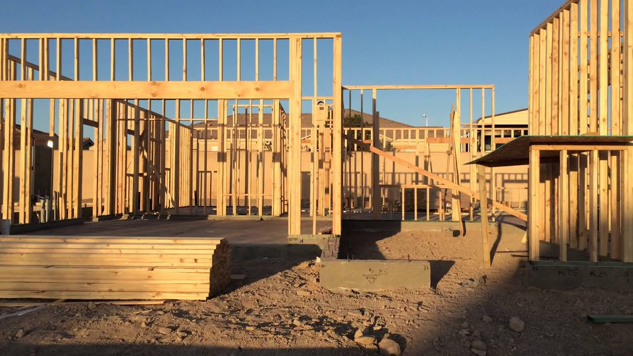the new home building process day 7 single story homes no hoa